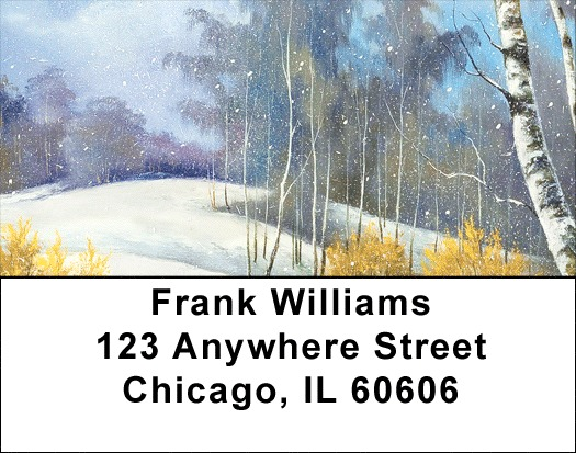 Aspen In Winter Address Labels - 3