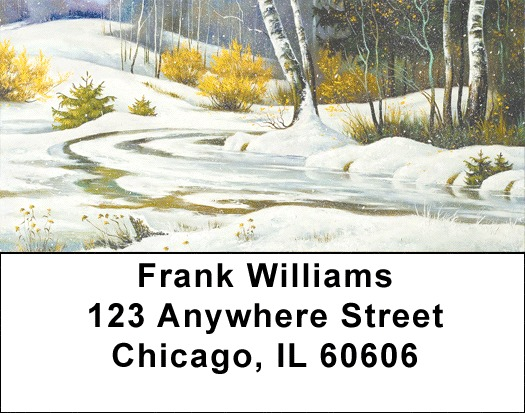 Aspen In Winter Address Labels - 4