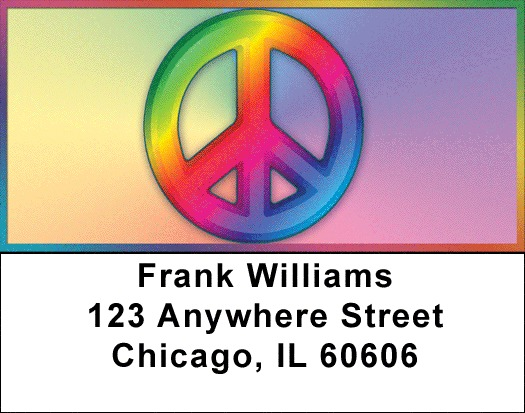 Rainbows For Peace Address Labels