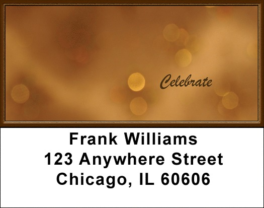 Celebrate Address Labels