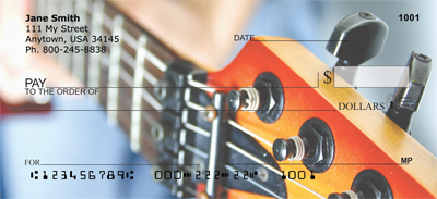 For Guitar Lovers Personal Checks - 3