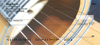 For Guitar Lovers Personal Checks - 4
