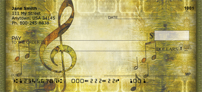 Timeless Music Personal Checks - 2