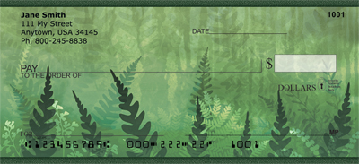 Magical Fern Gardens Personal Checks - 1