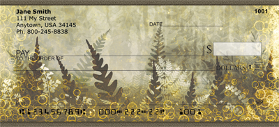 Magical Fern Gardens Personal Checks - 2