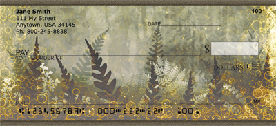 Magical Fern Gardens Personal Checks - 4