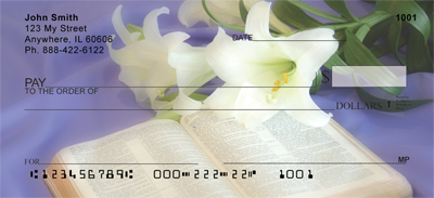 Symbols Of Faith Personal Checks - 2