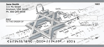 Star Of David Personal Checks