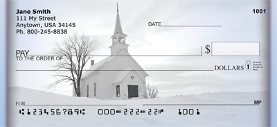 Church And Steeples Personal Checks - 4