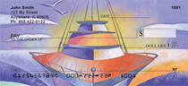 Artistic Look At Sailing Personal Checks