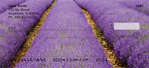 Fields Of Lavender Personal Checks