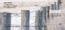 Barbed Wire Fences Personal Checks