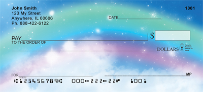 Rainbow Moments Personal Checks - 1