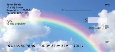 Rainbow Moments Personal Checks - 2