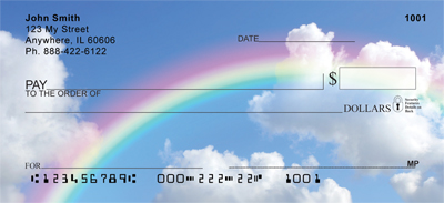 Rainbow Moments Personal Checks - 3
