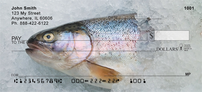 Trout On Ice Personal Checks - 1