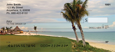 Golf Courses on The Ocean Personal Checks - 3