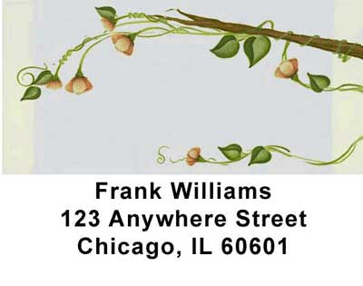 Flowers Address Labels - 1