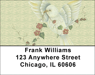 Tranquil Visitor Address Labels - 1