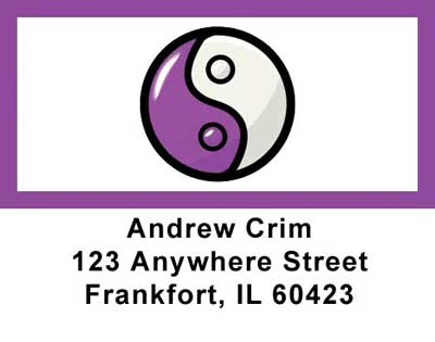 Yin-Yang Address Labels - 1