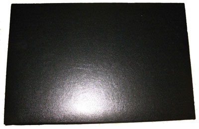 Black Business 7 Ring Check Binder - 1