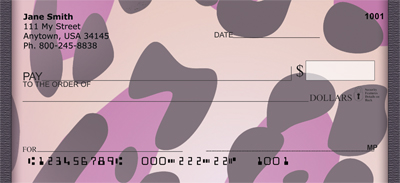 Fantasy Animal Prints Personal Checks