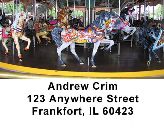 Carousel Series One Address Labels - 1