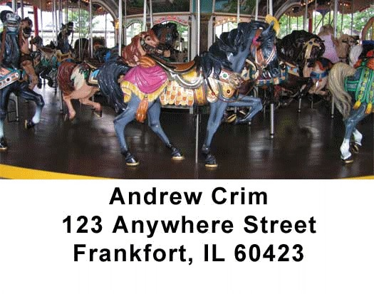 Carousel Series One Address Labels - 2