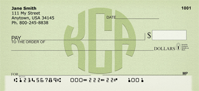Kirsten Custom Logo Personal Checks