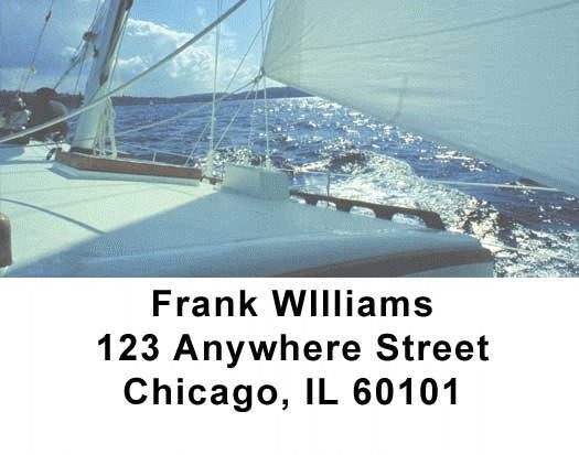 Sailing Address Labels - 3