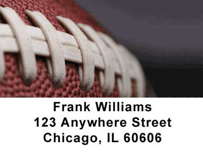 Football Address Labels - 1