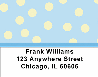 Geometric Shapes Checks Address Labels - 1