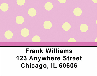 Geometric Shapes Checks Address Labels - 2