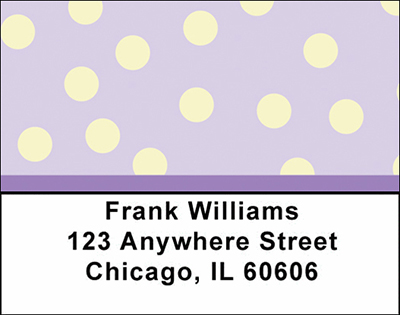 Geometric Shapes Checks Address Labels - 3