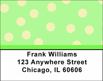 Geometric Shapes Checks Address Labels - 4