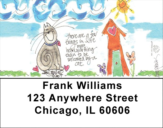 Home Sweet Home Address Labels - 1
