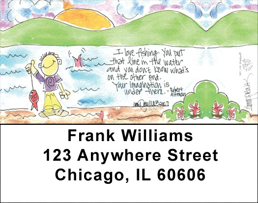 Home Sweet Home Address Labels - 2