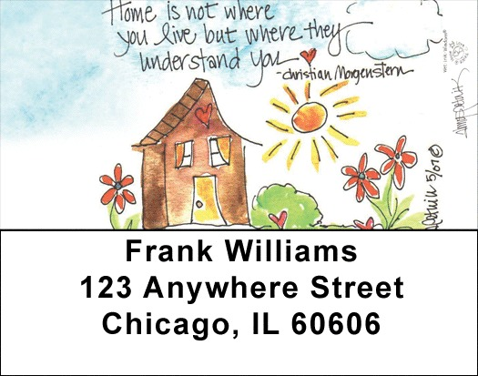 Home Sweet Home Address Labels - 3