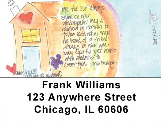 Home Sweet Home Address Labels - 4