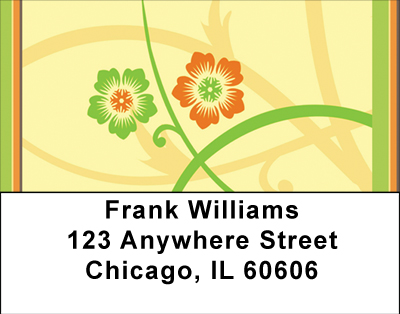 Warm Spring Florals Labels - 2
