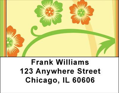 Warm Spring Florals Labels - 4
