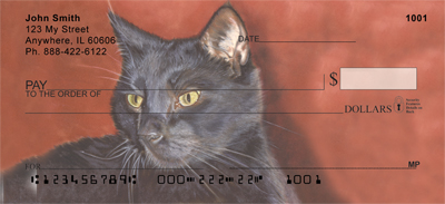 Affectionate Cats Personal Checks - 3