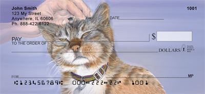 Affectionate Cats Personal Checks - 4