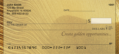 It's Golden Personal Checks - 2