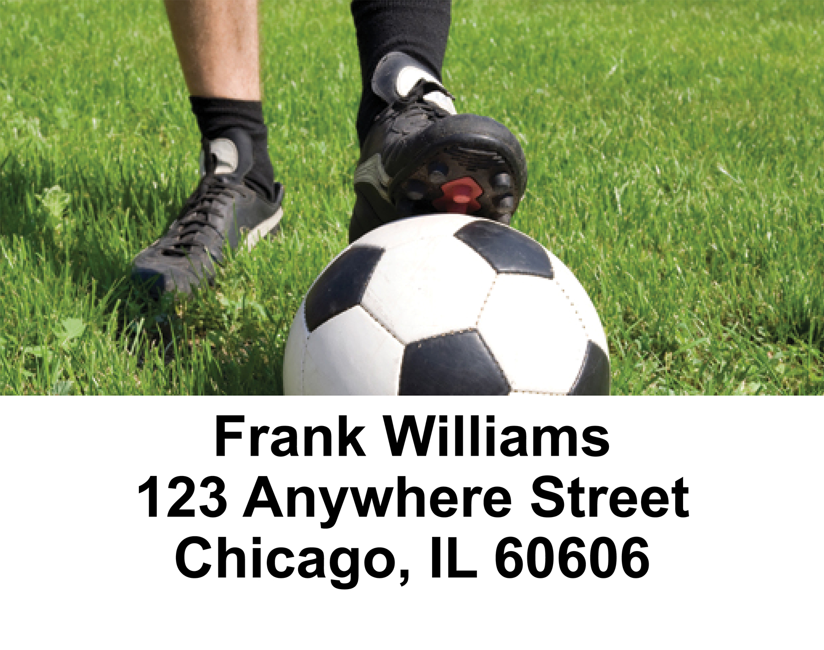 Soccer  Address Labels - 2