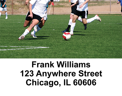 Soccer  Address Labels - 4