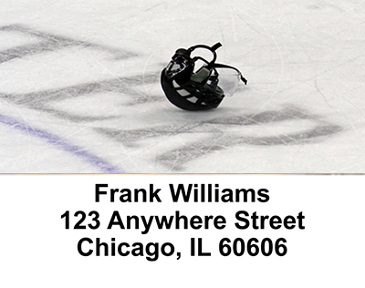 Ice Hockey   Address Labels - 4