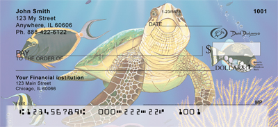 Sea Turtles Checks - 2