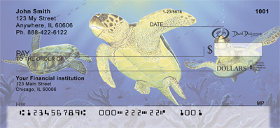 Sea Turtles Checks - 3