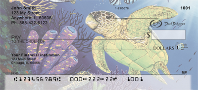 Sea Turtles Checks - 4